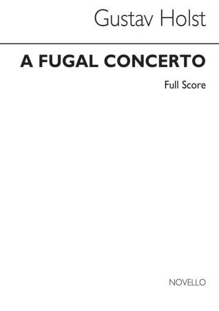 A FUGAL CONCERTO Op.40 No.2 Score