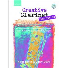 CREATIVE CLARINET IMPROVISING + CD