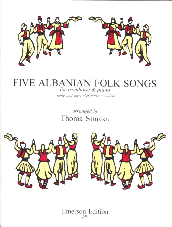 FIVE ALBANIAN FOLK SONGS (treble/bass clef)
