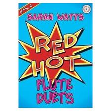 RED HOT FLUTE DUETS Book 2 + CD