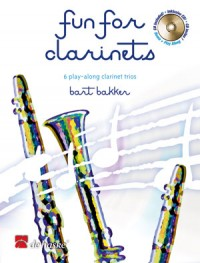 FUN FOR CLARINETS +CD