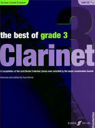 THE BEST OF GRADE 3 CLARINET + CD