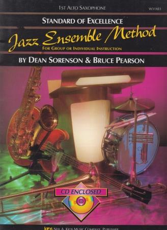 STANDARD OF EXCELLENCE Jazz Ensemble Method + CD 1st Alto Sax