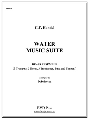 WATER MUSIC Suite in D