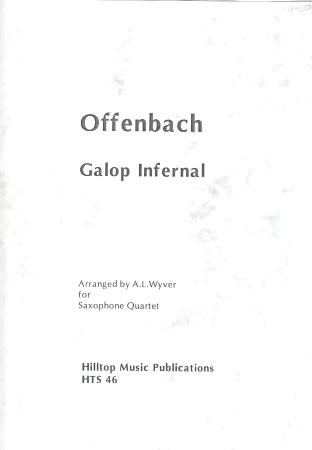 GALOP INFERNAL (score & parts)