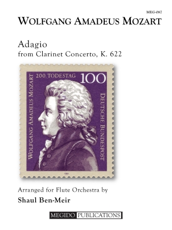 ADAGIO from Clarinet Concerto, K. 622