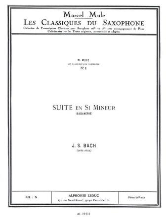 SUITE IN B MINOR Badinerie