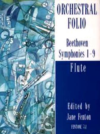 ORCHESTRAL FOLIO Symphonies 1-9 flute parts
