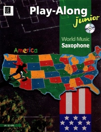 WORLD MUSIC JUNIOR: America + CD