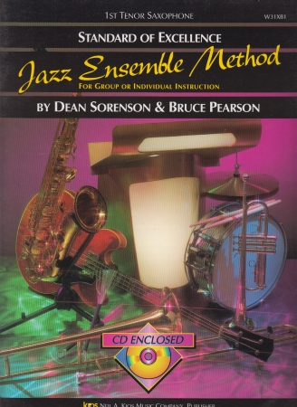 STANDARD OF EXCELLENCE Jazz Ensemble Method + CD 1st Tenor Sax
