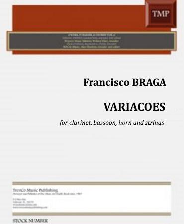 VARIACOES (score & parts)