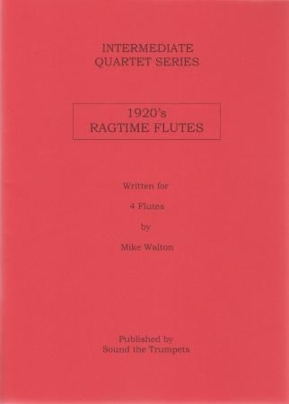 1920s RAGTIME FLUTES (score & parts)