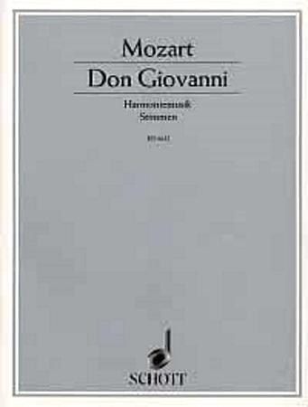 DON GIOVANNI Harmoniemusik (score & parts)