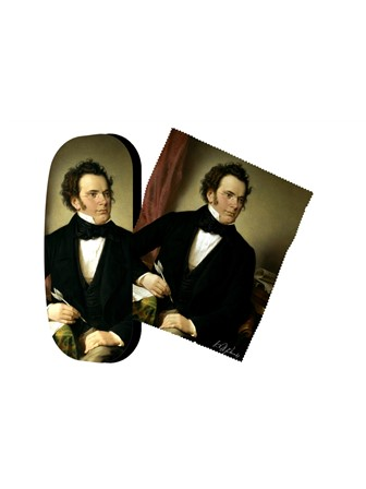 SPECTACLE CASE Schubert (Portrait)