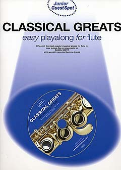 JUNIOR GUEST SPOT: Classical Greats Playalong + CD