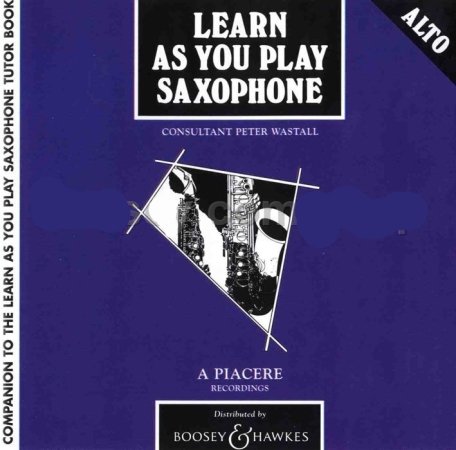 LEARN AS YOU PLAY SAXOPHONE CD