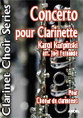 CONCERTO POUR CLARINETTE (score & parts)