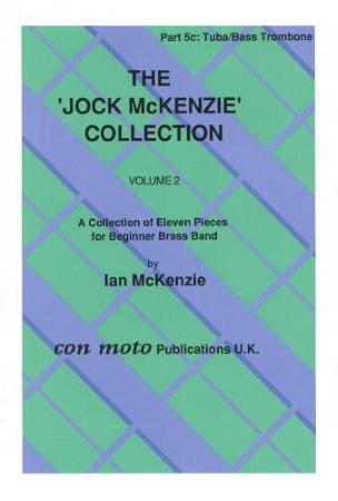 THE JOCK MCKENZIE COLLECTION Volume 2 BRASS BAND Part 5c: tba/tbn/B. (bass clef)