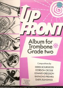 UP FRONT ALBUM TROMBONE Book 1 bass clef