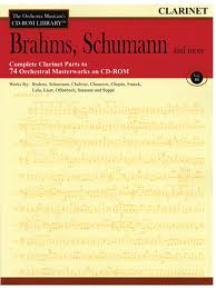 THE ORCHESTRA MUSICIAN'S CD-Rom LIBRARY Volume 3: Brahms, Schumann etc