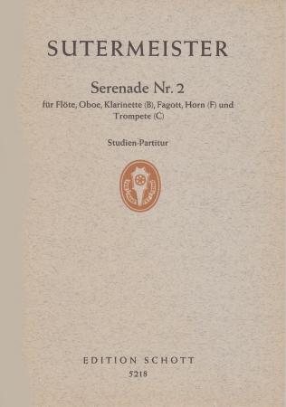 SERENADE No.2 (1961) score