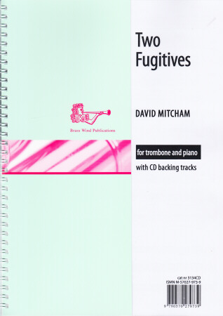 TWO FUGITIVES + CD (treble/bass clef)