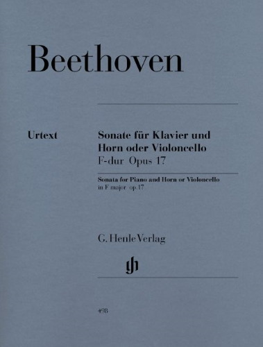 SONATA in F major, Op.17 (Urtext)