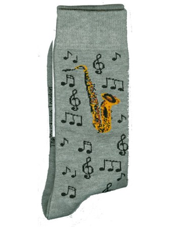 SOCKS Saxophone & Notes Design