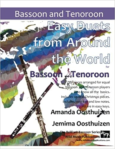 EASY DUETS FROM AROUND THE WORLD for Tenoroon & Bassoon