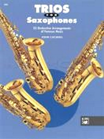 TRIOS for Saxophones (playing score)