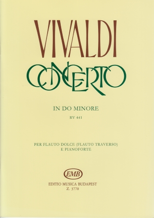 CONCERTO in C minor RV441 FVI/11