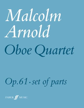 OBOE QUARTET Op.61 (set of parts)