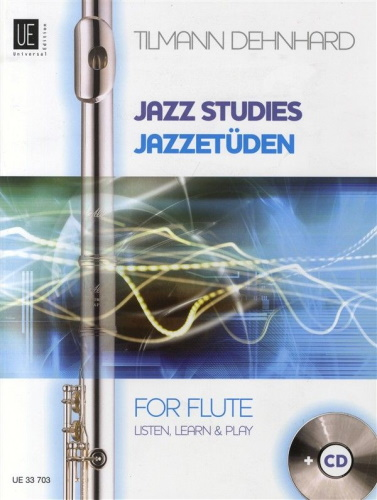 JAZZ STUDIES FOR FLUTE + CD