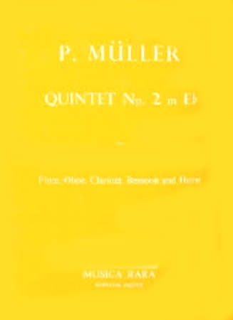 QUINTET No.2 in Eb major (parts only)