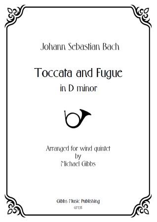 TOCCATA AND FUGUE (score & parts)