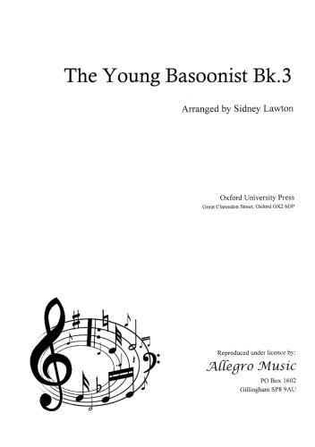 THE YOUNG BASSOONIST Volume 3
