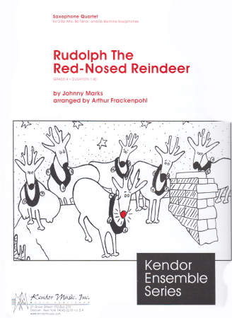 RUDOLPH THE RED-NOSED REINDEER score & parts
