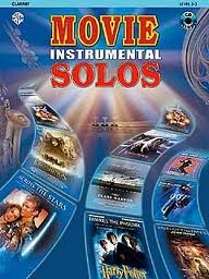 MOVIE INSTRUMENTAL SOLOS + CD
