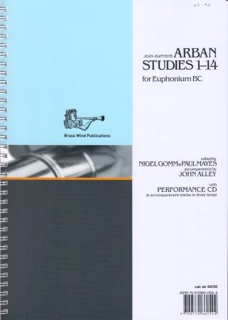ARBAN STUDIES 1-14 + CD