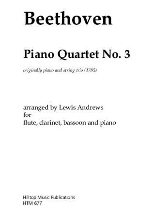 PIANO QUARTET No.3