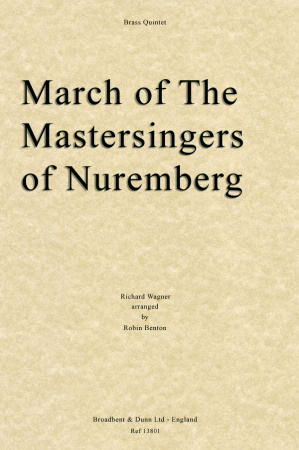 MARCH OF THE MASTERSINGERS OF NUREMBERG (score & parts)