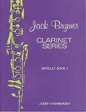 JACK BRYMER CLARINET SERIES Difficult Book 1