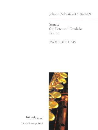 SONATA in Eb major BWV 1031, H.545