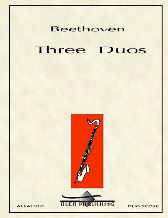 THREE DUOS WoO 27