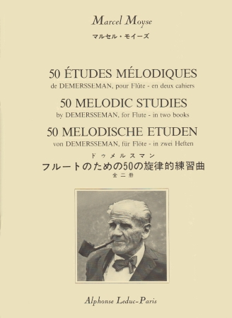 50 MELODIC STUDIES by Demersseman Book 1