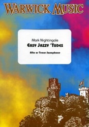 EASY JAZZY 'TUDES + CD for Saxophone