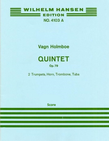 QUINTET Op.79 score