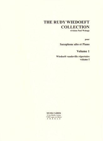 THE RUDY WIEDOEFT COLLECTION Volume 1