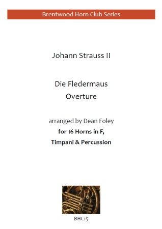 DIE FLEDERMAUS Overture (score & parts)