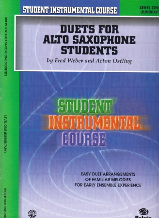 DUETS FOR ALTO SAXOPHONE STUDENTS Level 1